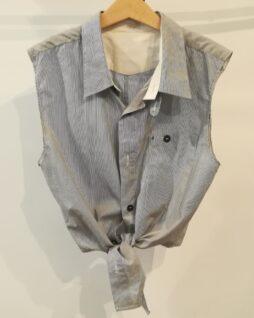 "Crop-top ""chemise"" T.36"