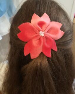 Peigne fleur Sakura